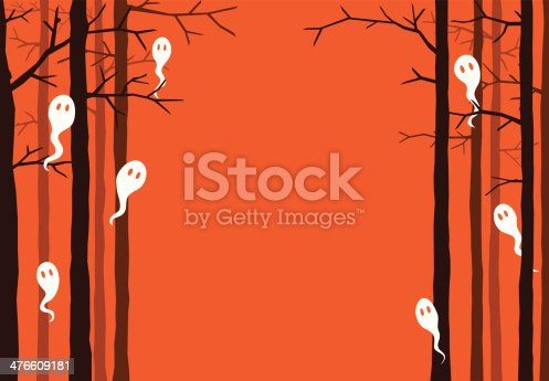 istock Ghosts in the forest 476609181