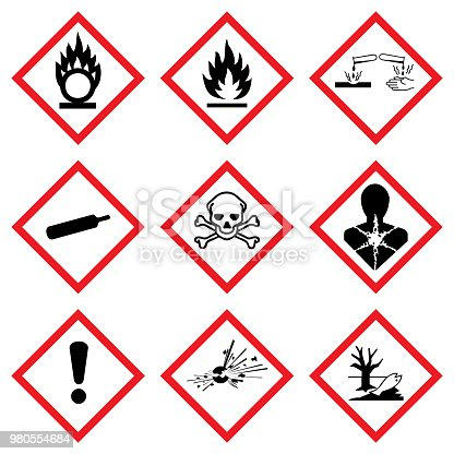 istock ghs warning icon vector set 980554684