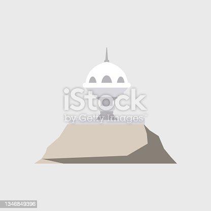 istock Giant incense burner in Muscat. 1346849396