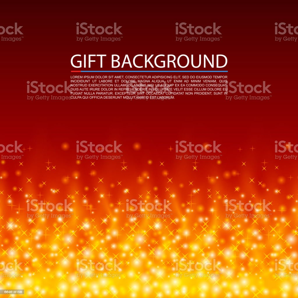 Gift background fire cover magic background vector illustration gift background fire cover magic background vector illustration gift background fire negle Images
