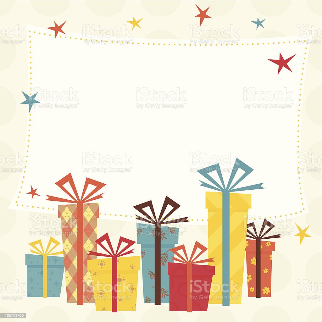 Gift background royalty-free gift background stock vector art & more images of adhesive note