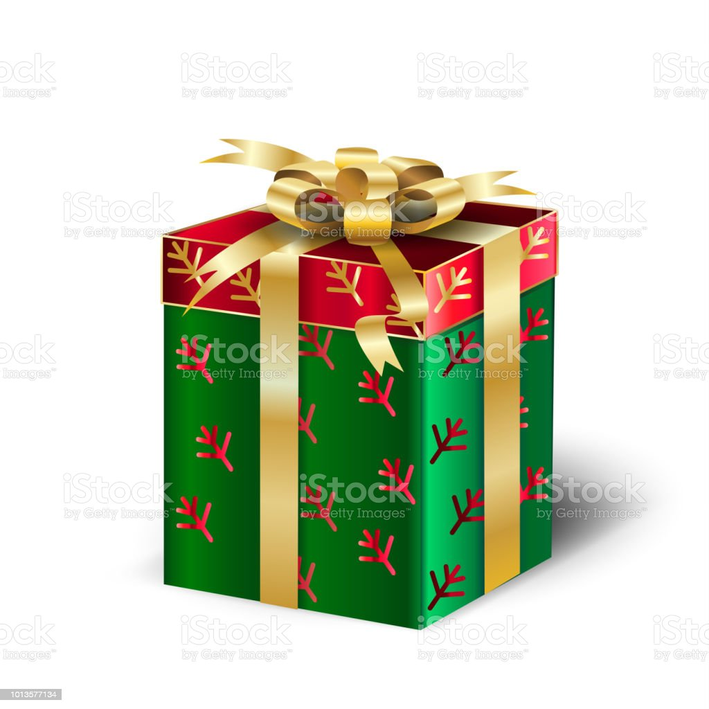 gift box christmas present royalty free gift box christmas present stock vector art
