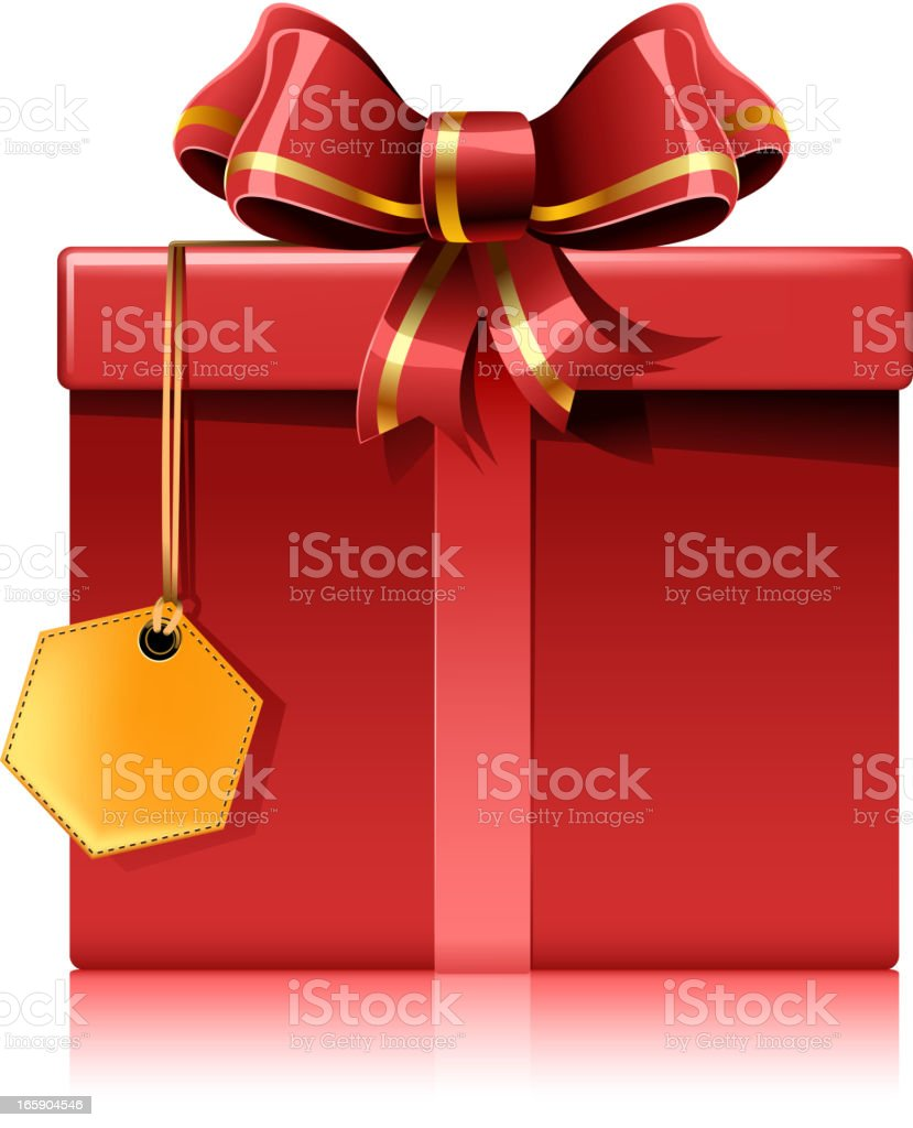 gift box front view royalty-free gift box front view stock vector art & more images of birthday