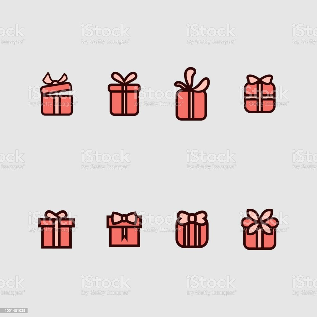 Gift Box Logo Design Template Stock Illustration Download Image Now Istock