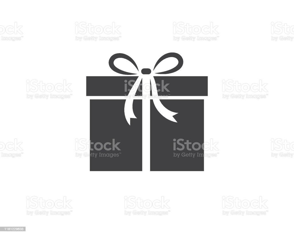Gift Box Logo Vector Icon Stock Illustration Download Image Now Istock