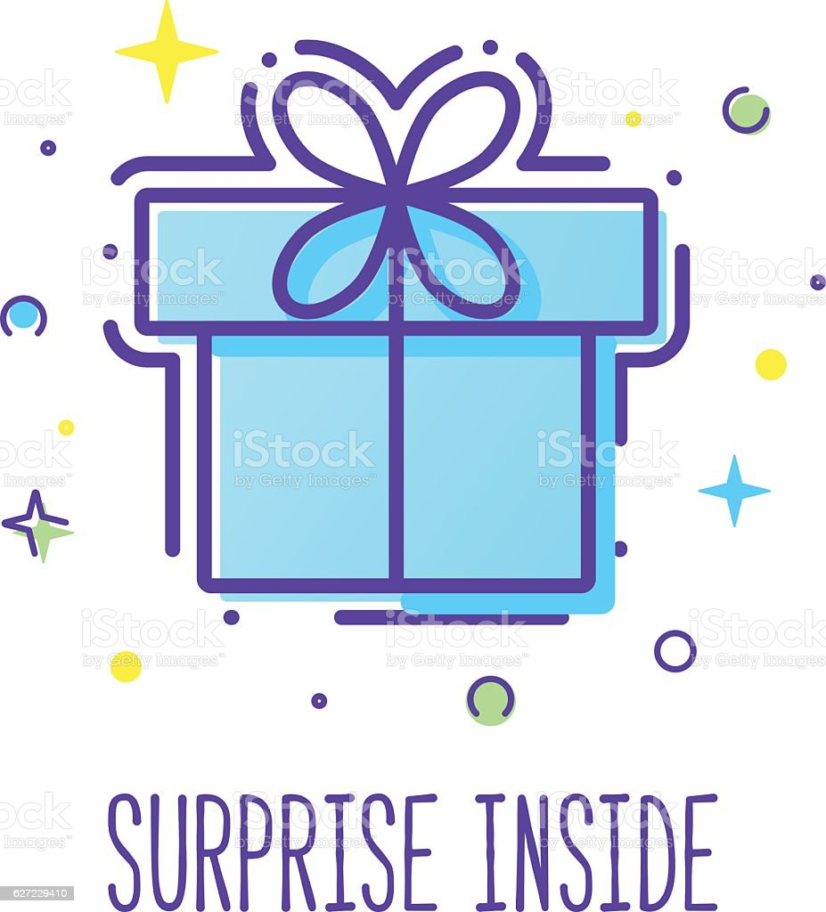 Gift Box Logo Stock Illustration Download Image Now Istock