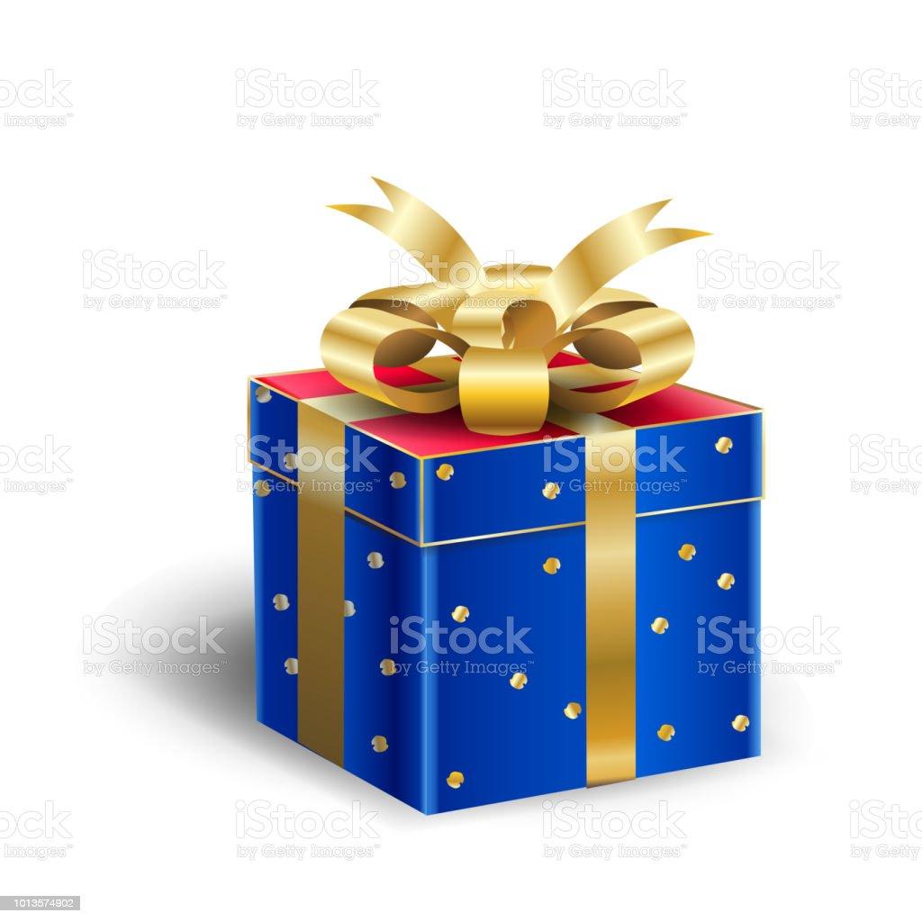 Gift Box Present For Christmas Or Birthday Holiday