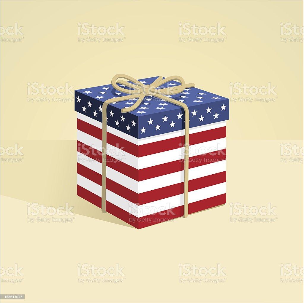 Geschenke mit usa flagge