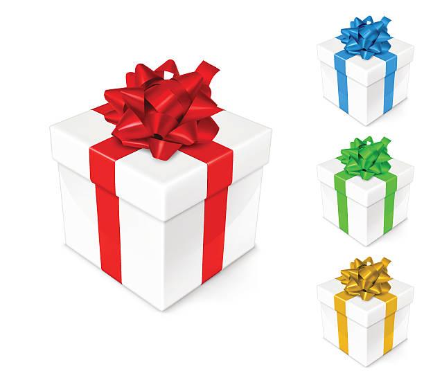 bildbanksillustrationer, clip art samt tecknat material och ikoner med gift box - blue yellow band