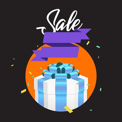 Gift Box - Arte vetorial de stock e mais imagens de Aniversário