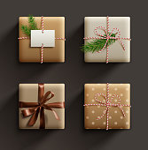 istock Gift Boxes collection. 1185514904