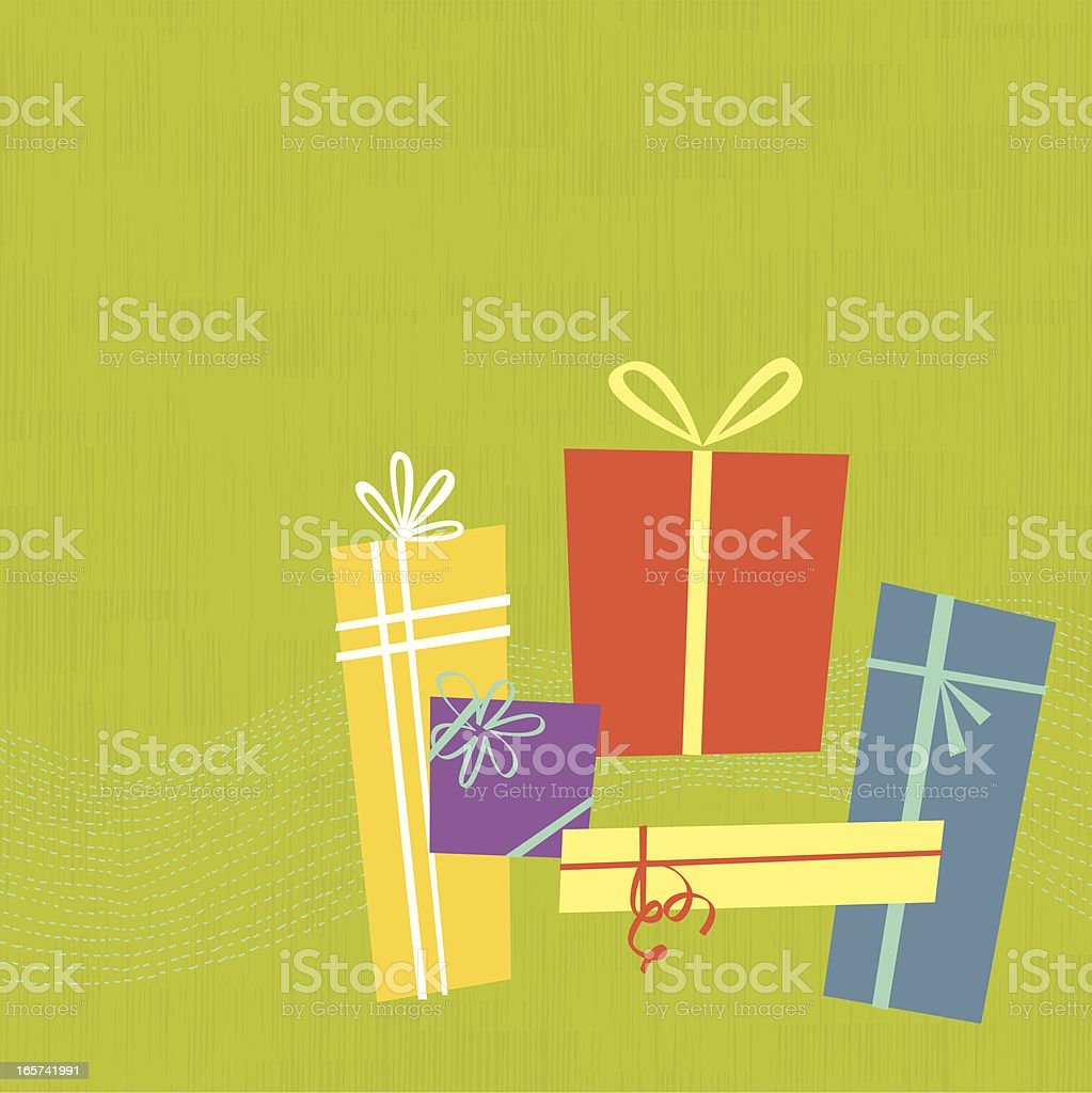 Gift Boxes - Royalty-free Backgrounds stock vector