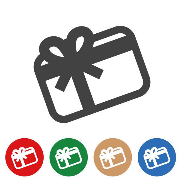 illustrazioni stock, clip art, cartoni animati e icone di tendenza di gift card - graphic illustration series - coupon