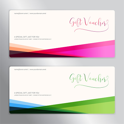 Gift Certificate Voucher Gift Card Or Cash Coupon Template