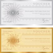 Gift certificates for foreign currencies