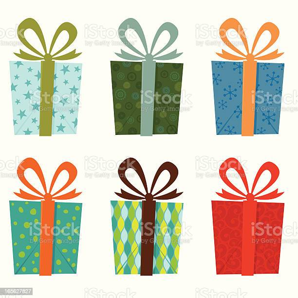 Gift Collection Stock Illustration - Download Image Now