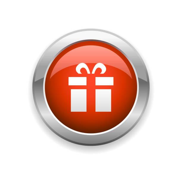 ギフト光沢アイコン - 勤労感謝の日点のイラスト素材/クリップアート素材/マンガ素材/アイコン素材