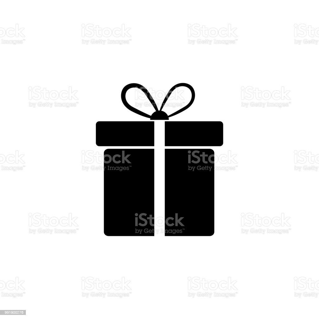 Gift Icon  - Illustration vector art illustration