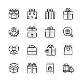 16 Outline Icons.