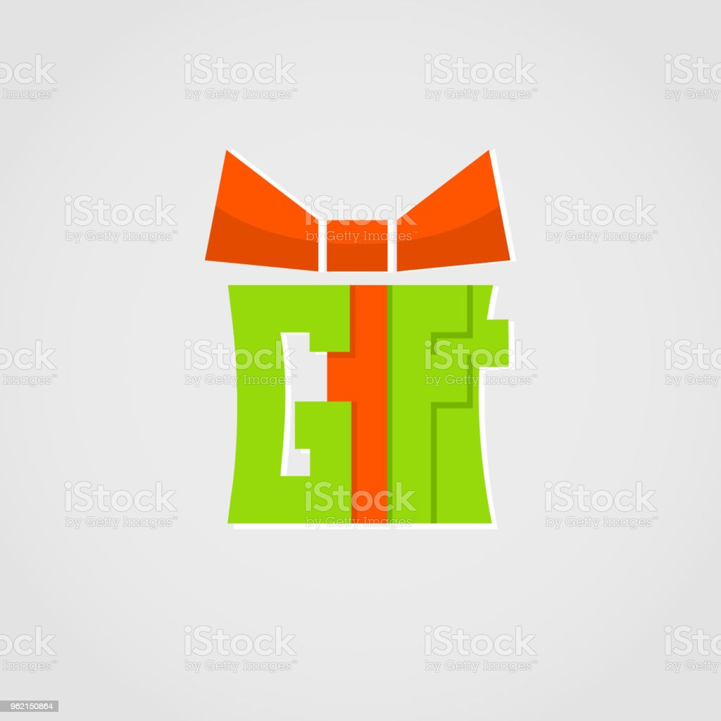 Gift Logovector Present Logo Design For Holidays And Gift Shop Stock Illustration Download Image Now Istock