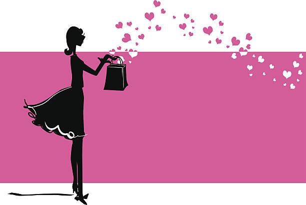 Gift of Love vector art illustration