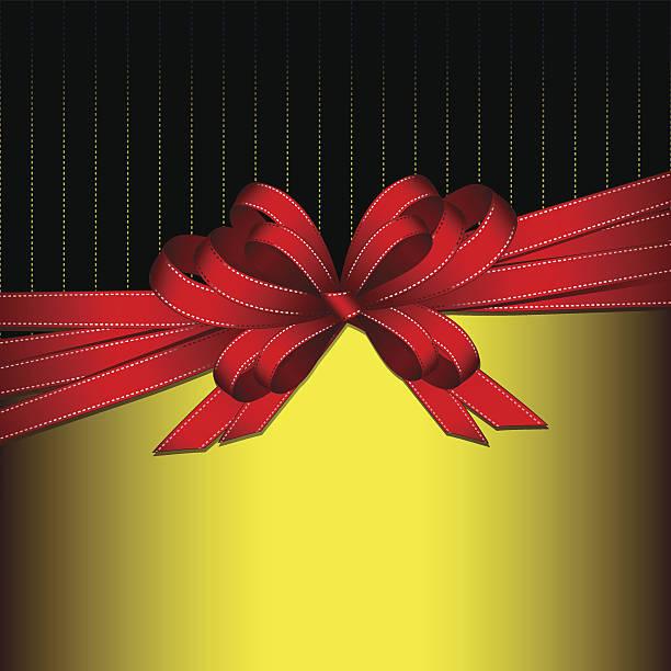 gift ribbon vector art illustration