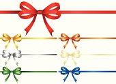 Holiday Gift Ribbon. ZIP contains AI format, PDF and jpeg XLarge.