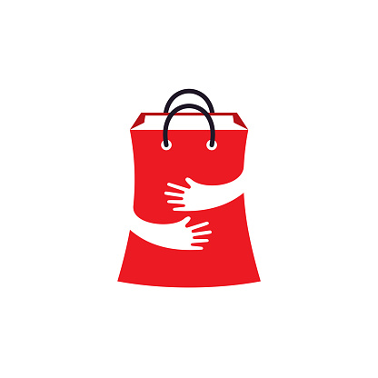 Gift Store Logo designs concept vector, Online Shop logo template