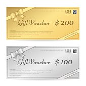 Gift voucher or gift certificate template