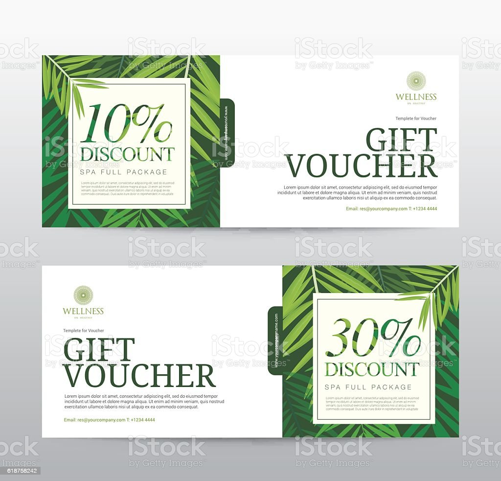 Gift voucher template for spa hotel resort stock vector art more gift voucher template for spa hotel resort royalty free gift voucher template for spa yadclub Images