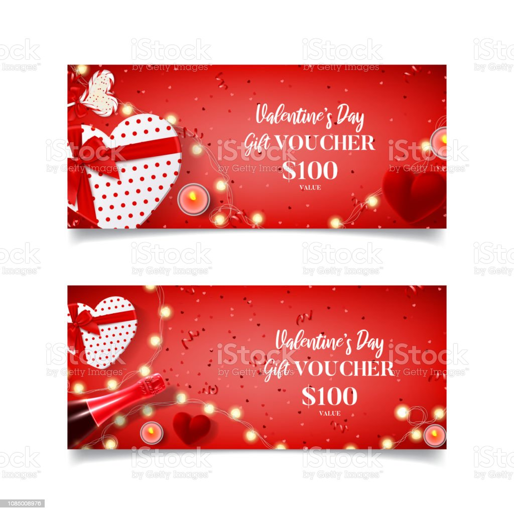 Gutschein valentinstag vorlage
