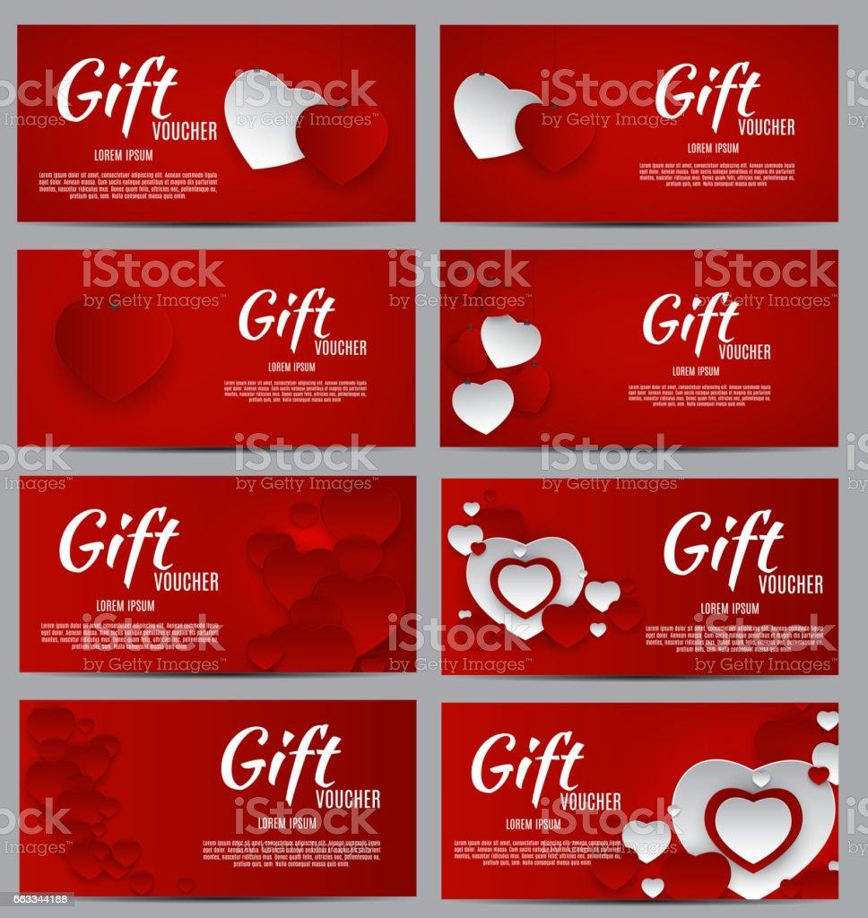 Carte Cadeau Entreprise.Modele De Bon Cadeau Pour Votre Entreprise Valentine S Day Coeur