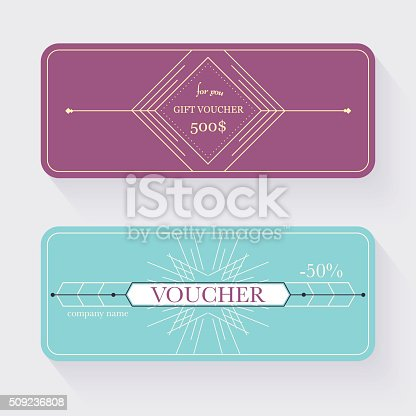 Gift Voucher Template Gift Certificate Background Design Gift Stock ...