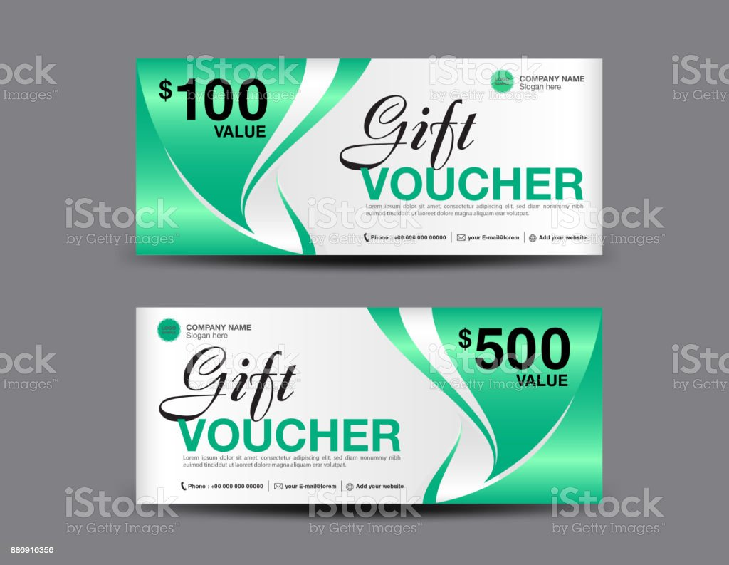 Gift voucher template layout business flyer design green coupon gift voucher template layout business flyer design green coupon ticket discount card fbccfo Gallery
