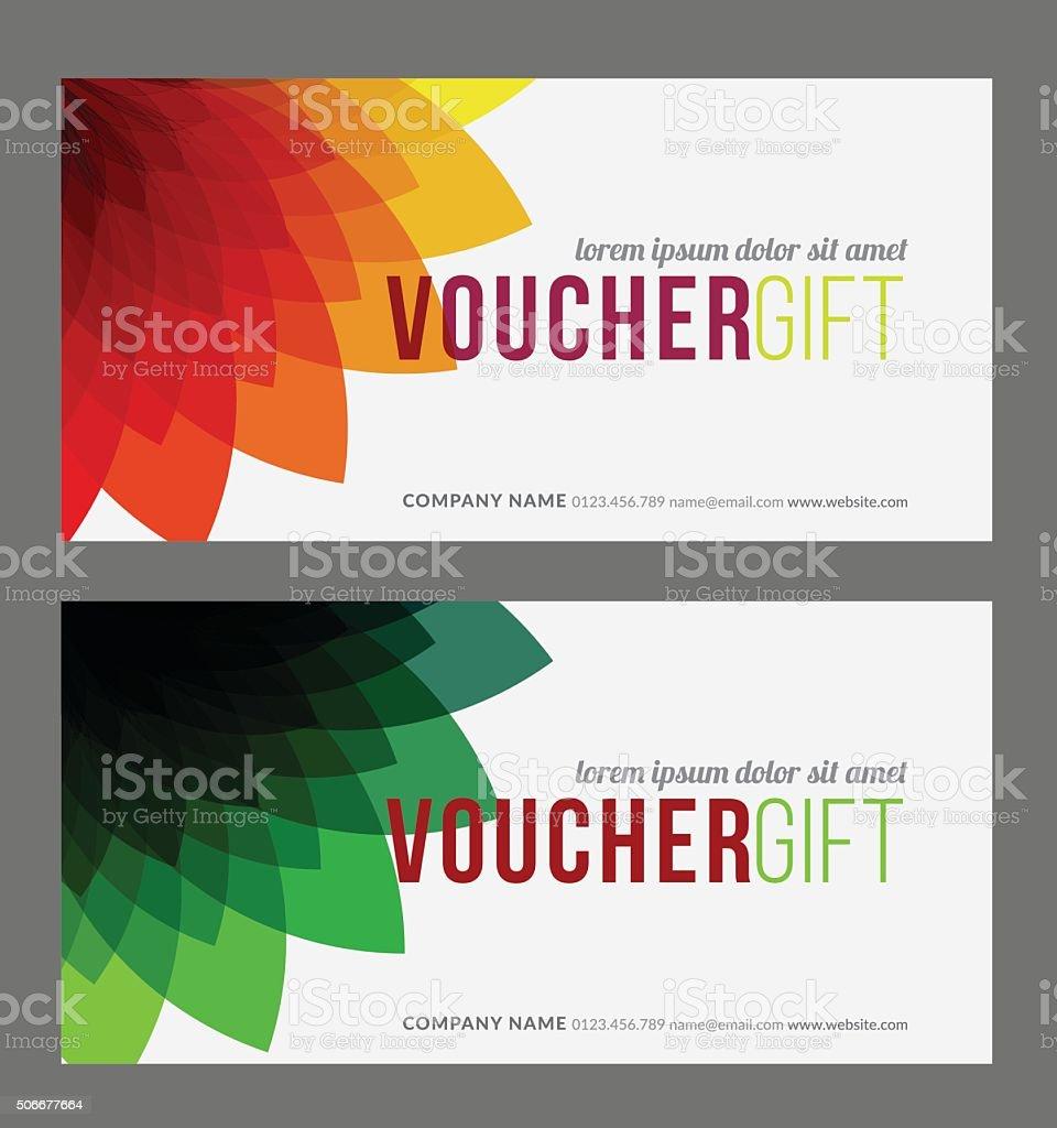 Geschenk Gutschein Vorlage Stock Vektor Art und mehr Bilder von ...