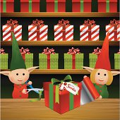 Gift Wrapping Elves