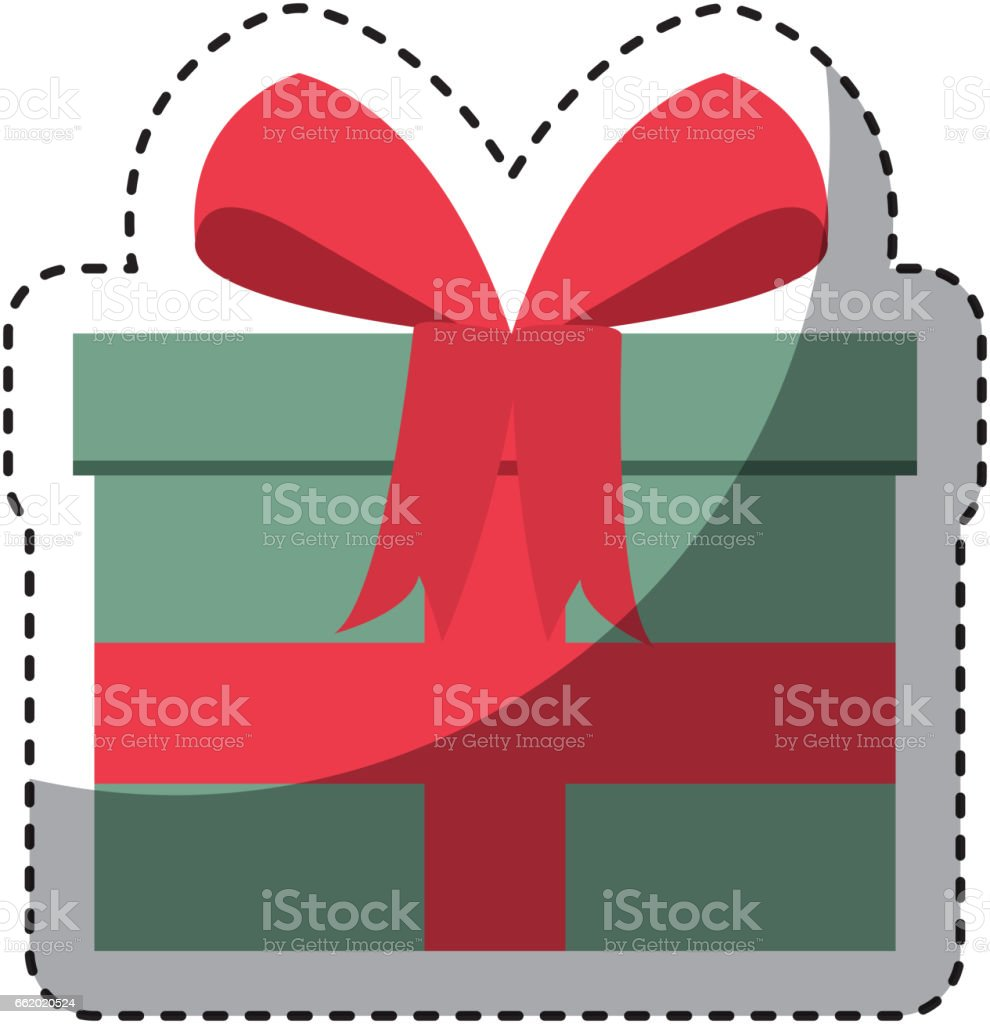 giftbox present isolated icon royalty-free giftbox present isolated icon stock vector art & more images of anniversary
