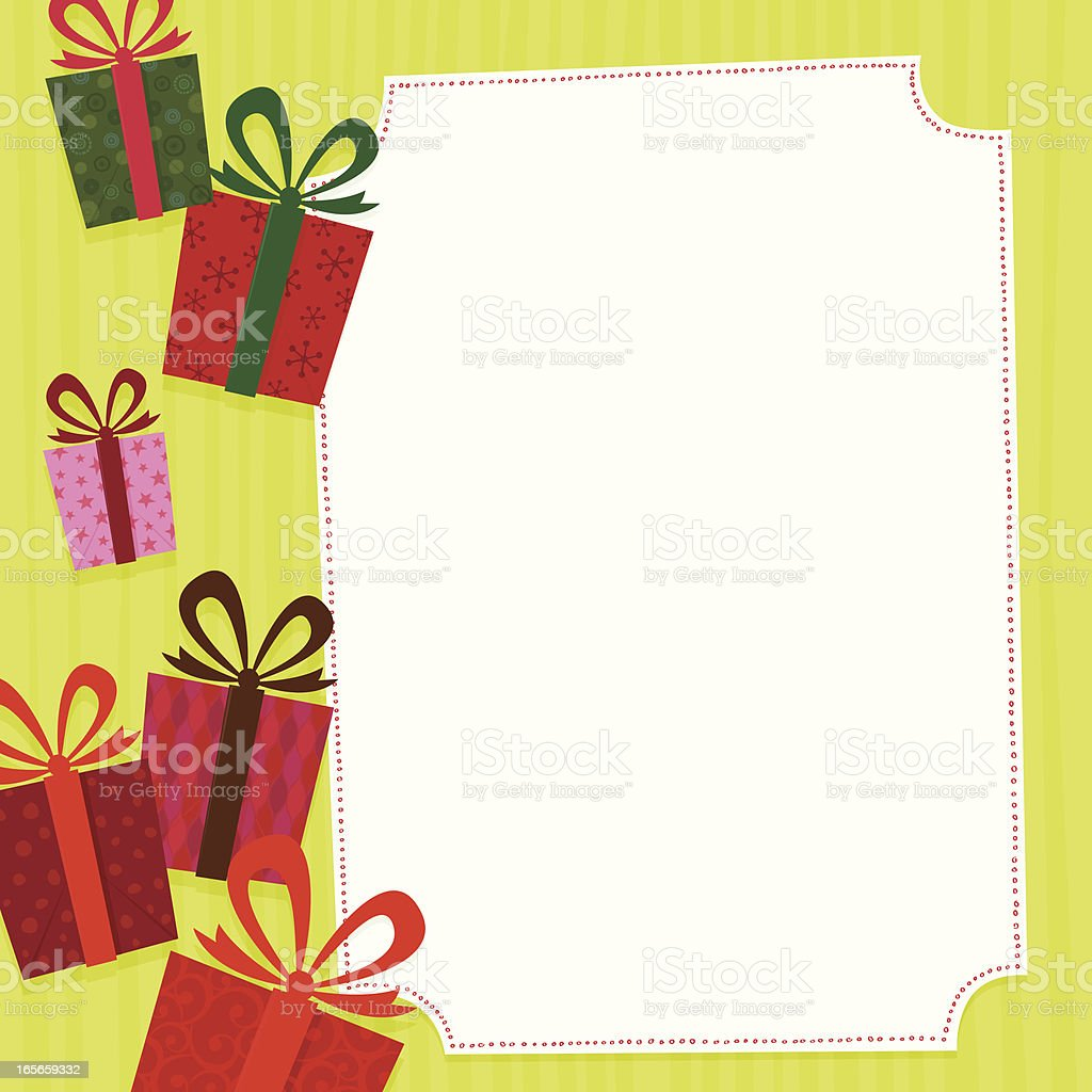 Gifts - Royalty-free Backgrounds stock vector