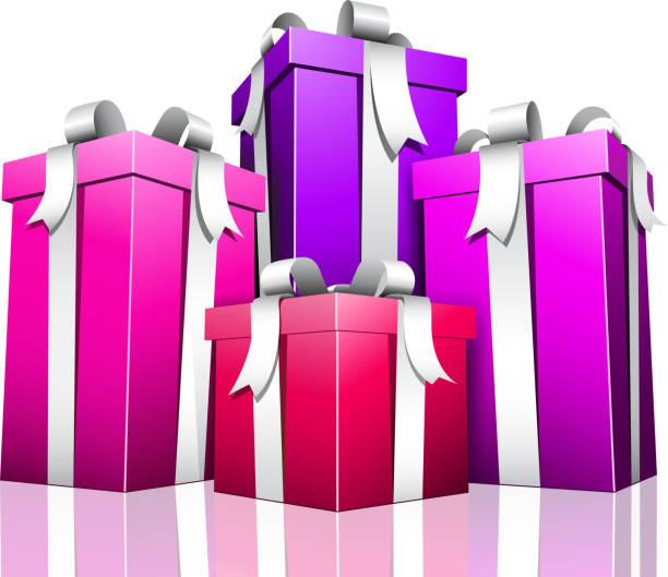 Geschenke – Vektorgrafik