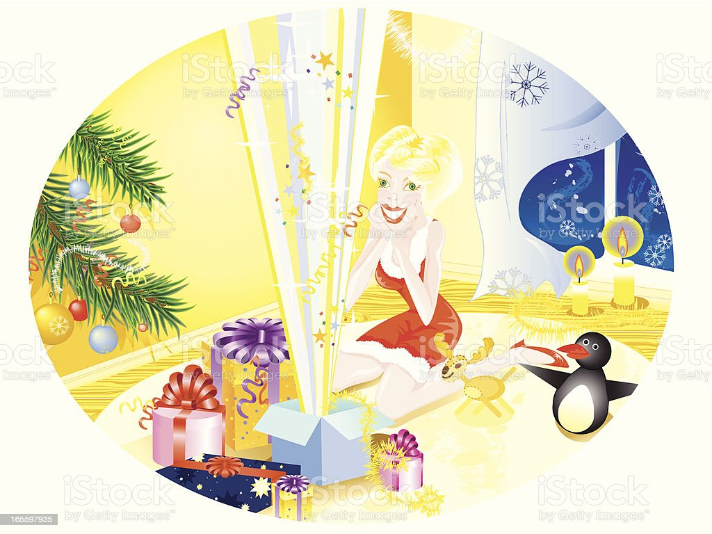 gifts-gifts-gifts!!! royalty-free giftsgiftsgifts stock vector art & more images of beauty