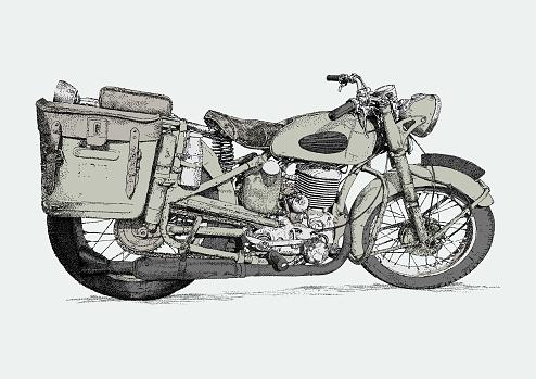 Gillet Vintage Motorbike