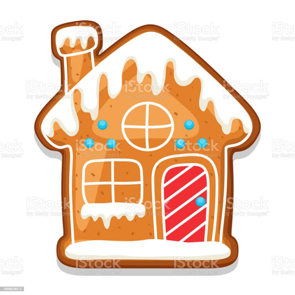 royalty free gingerbread house clip art vector images rh istockphoto com gingerbread house clipart images gingerbread house clipart images