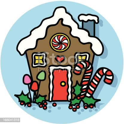 Gingerbread House Clip Art Free Vector Download It Now