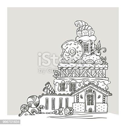 istock Candy tierra 506193915 istock Casa de dulce. Confitería y ...