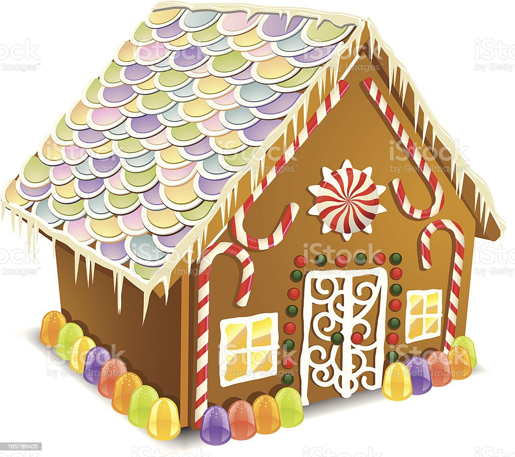 Gingerbread House Stock Vector Art & More Images of ...