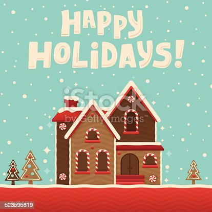 istock Gingerbread House 523595819