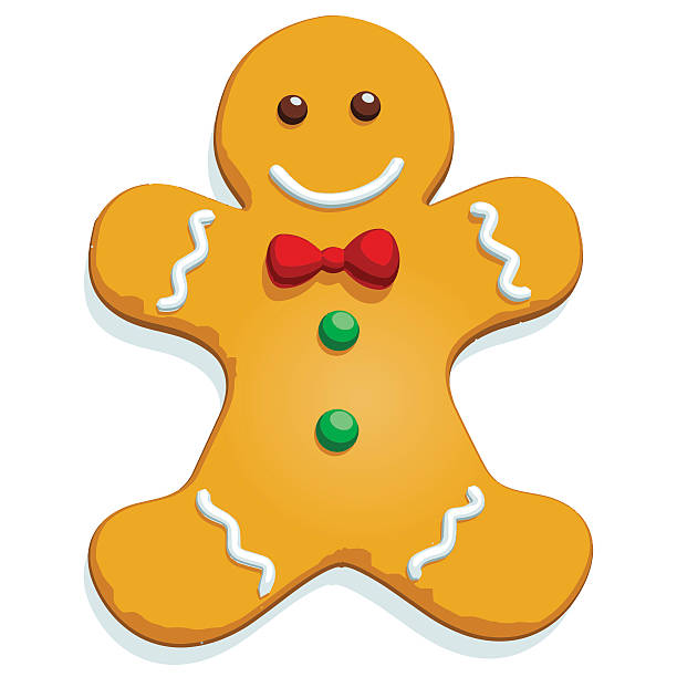 Royalty Free Gingerbread Man Clip Art Vector Images Amp Illustrations