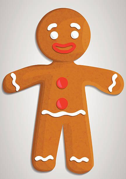 Gingerbread Gingerbread gingerbread man stock illustrations