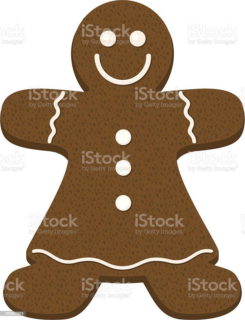 Gingerbread Woman Clipart 1 Clip Art Vector Site