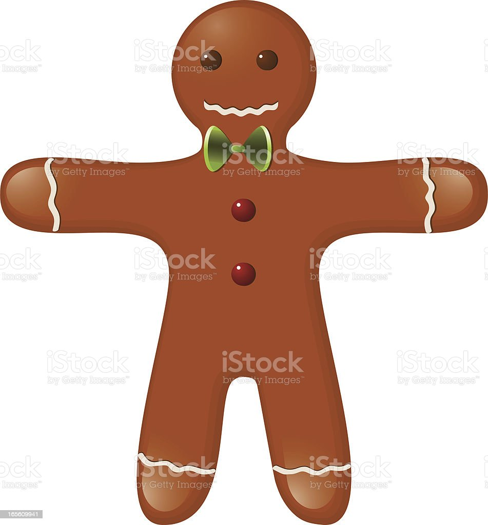 Gingerbread-Man royalty-free stock vector art
